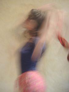 danseuse floutée