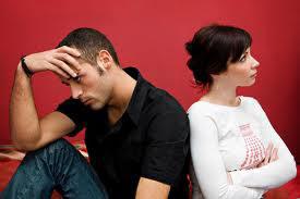 conflit couple tourne le dos