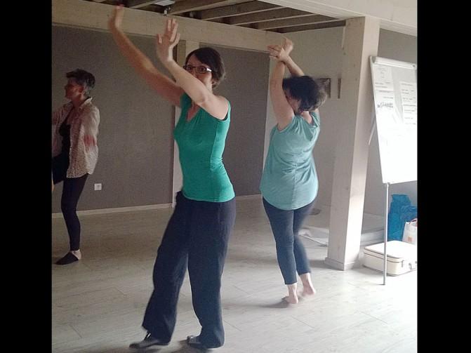 Stage dance thérapie 2015