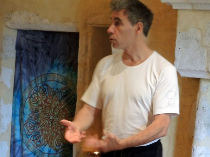 enseignement stage danse thérapie 2016