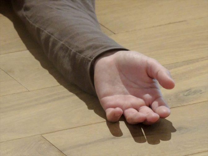main relachée stage danse thérapie 2016