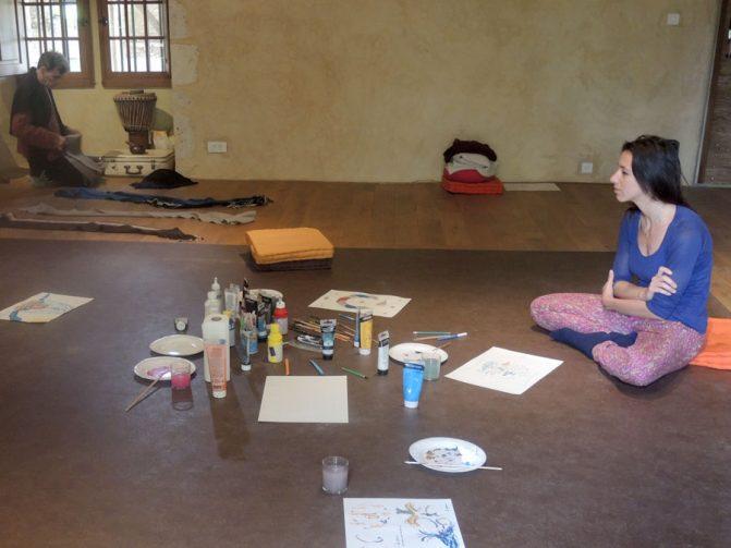 atelier arts stage danse thérapie 2016