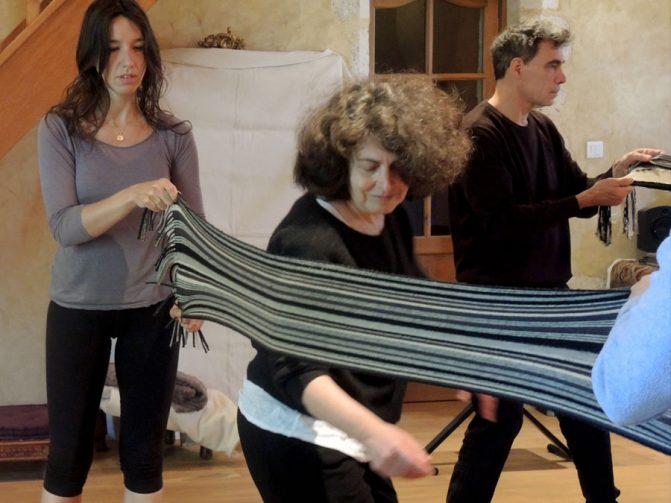 echarpe stage danse thérapie 2016