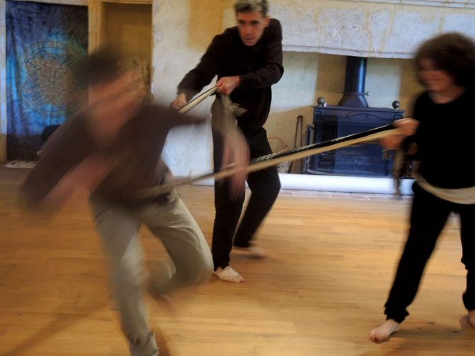 tirer stage danse thérapie 2016